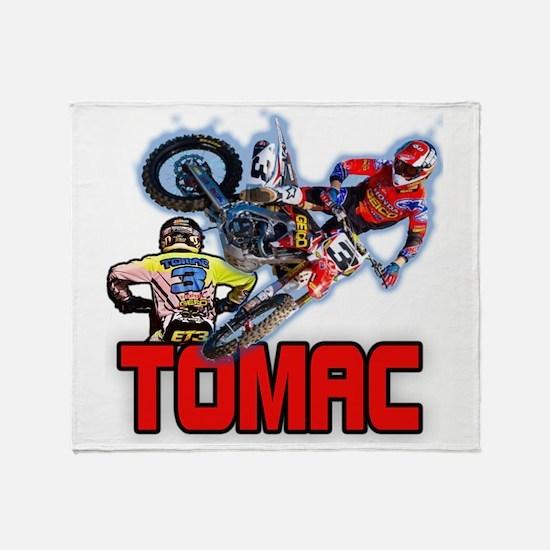 Tomac3 Throw Blanket