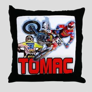 Tomac3 Throw Pillow