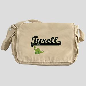 Tyrell Classic Name Design with Dino Messenger Bag