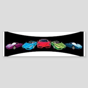 Ferrari Enzo stripe Bumper Sticker