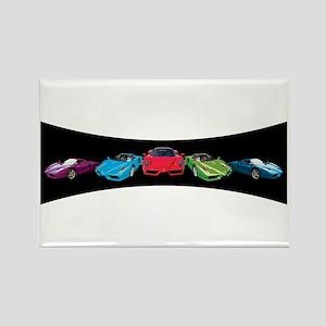 Ferrari Enzo stripe Rectangle Magnet