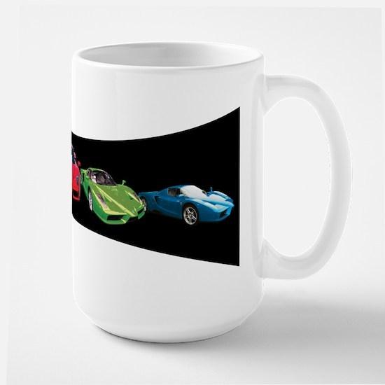 Ferrari Enzo stripe Large Mug