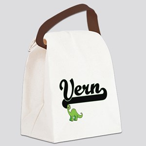 Vern Classic Name Design with Din Canvas Lunch Bag