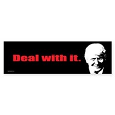 Deal With It. Sticker (Bumper)