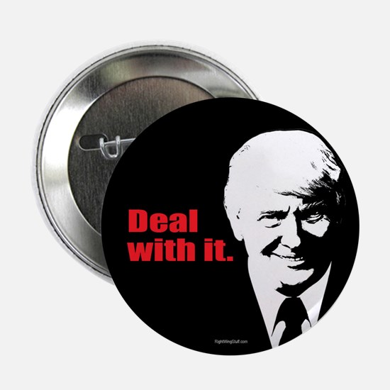 "Deal With It. 2.25"" Button (10 pack)"