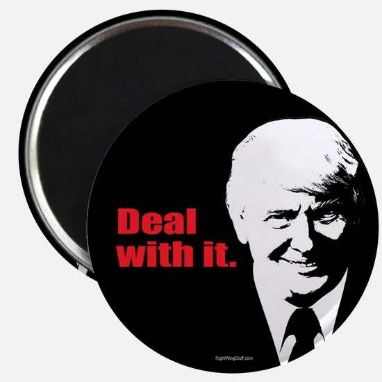 """Deal With It. 2.25"""" Magnet (10 pack)"""