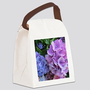 Hydrangea Canvas Lunch Bag