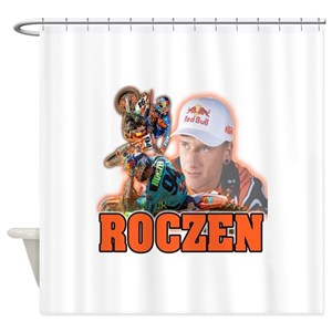 Motocross Shower Curtains