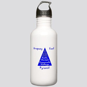 Uruguay Food Pyramid Stainless Water Bottle 1.0L
