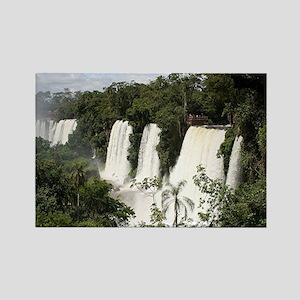 Iguazu Falls, Argentina, South Am Rectangle Magnet