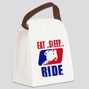 Eat sleep ride 2013 Canvas Lunch Bag