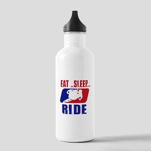 Eat sleep ride 2013 Water Bottle