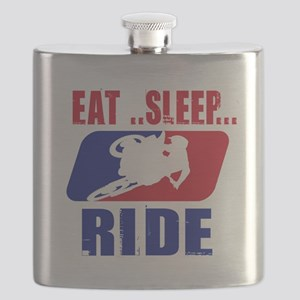 Eat sleep ride 2013 Flask