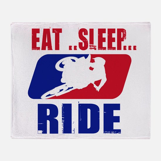 Eat sleep ride 2013 Throw Blanket