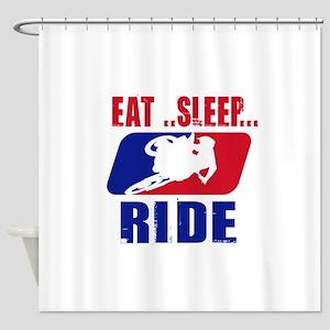 Eat sleep ride 2013 Shower Curtain