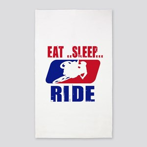 Eat sleep ride 2013 Area Rug