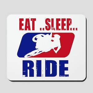 Eat sleep ride 2013 Mousepad