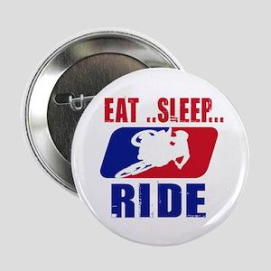 "Eat sleep ride 2013 2.25"" Button (100 pack)"