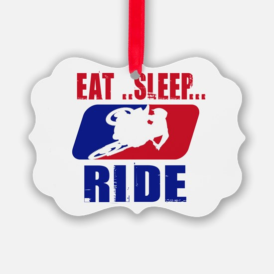 Eat sleep ride 2013 Ornament