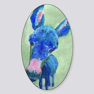 Wonkey Donkey Sticker (Oval)