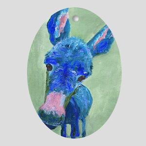 Wonkey Donkey Oval Ornament