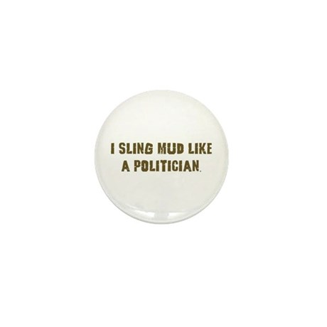 Mud Slinger Off road gifts Mini Button