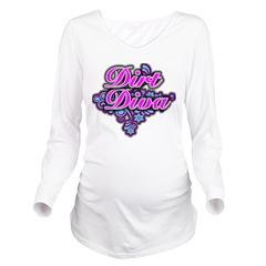 Dirt Diva FL Long Sleeve Maternity T-Shirt