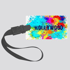 HOLLYWOOD BURST Large Luggage Tag