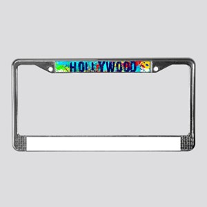 HOLLYWOOD BURST License Plate Frame
