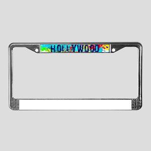 HOLLYWOOD BURST License Plate Frame