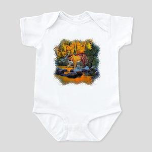 Autumn Cougar Infant Bodysuit