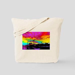 CONEY ISLAND AMUSEMENT PARK Tote Bag