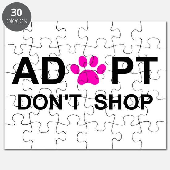 Cool Save a life adopt a pet adoption animal rescue Puzzle