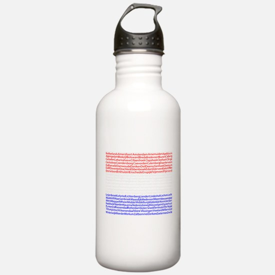 Dutch Cities Flag Water Bottle