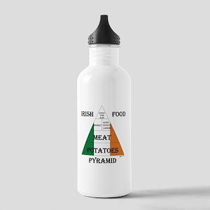 Irish Food Pyramid Stainless Water Bottle 1.0L