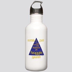 Scottish Food Pyramid Stainless Water Bottle 1.0L