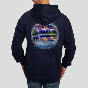 Grand Teton National Park Hoodie (dark)