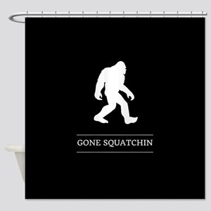 Gone Squatchin Shower Curtain
