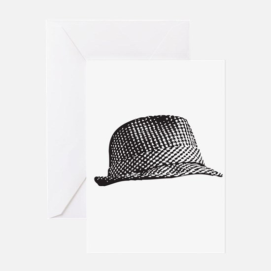 Houndstooth_Middle Greeting Cards