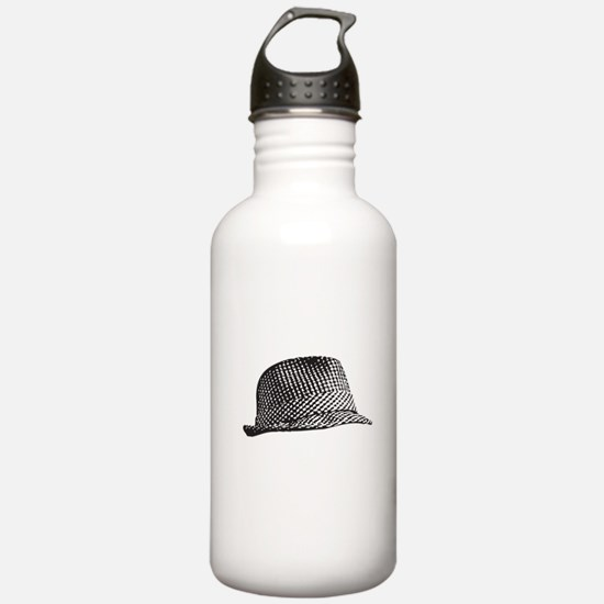 Houndstooth_Middle.png Water Bottle