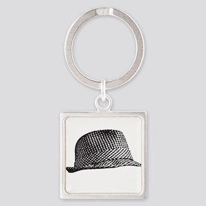 Houndstooth_Middle Keychains