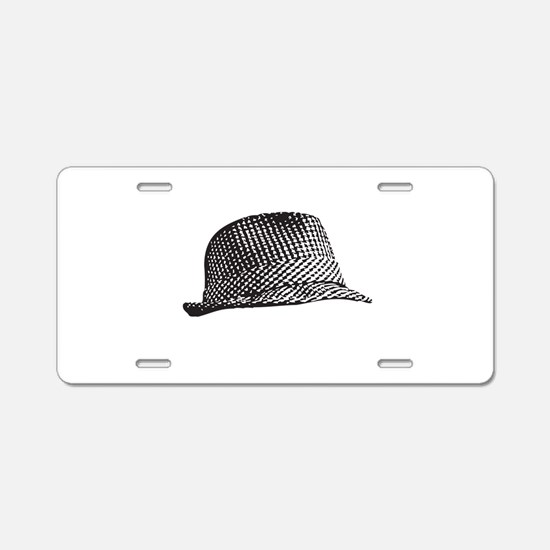 Houndstooth_Middle.png Aluminum License Plate
