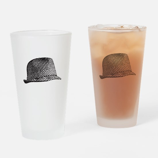 Houndstooth_Middle.png Drinking Glass