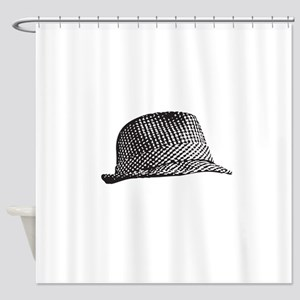 Houndstooth_Middle Shower Curtain