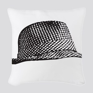 Houndstooth_Middle Woven Throw Pillow
