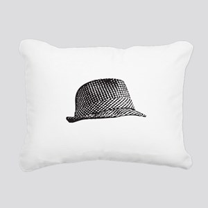 Houndstooth_Middle Rectangular Canvas Pillow