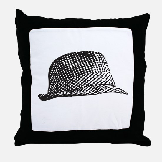 Houndstooth_Middle.png Throw Pillow