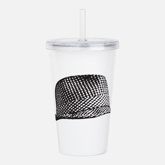 Houndstooth_Middle.png Acrylic Double-wall Tumbler