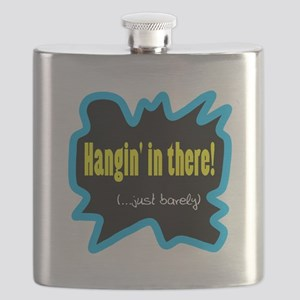 Hangin' In There Flask