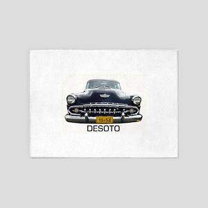 Desoto 1954 car 5'x7'Area Rug